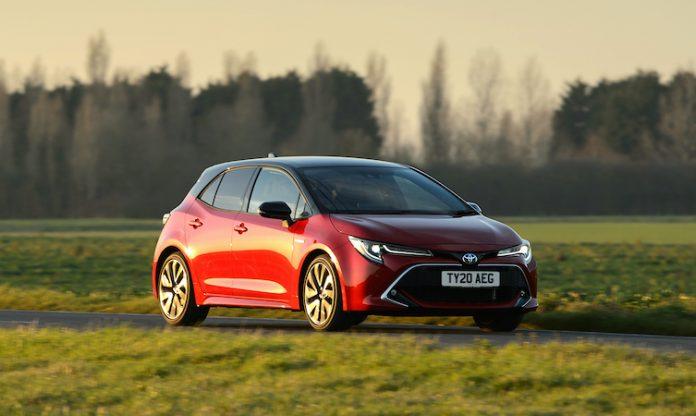 Toyota Corolla Hybrid Excel