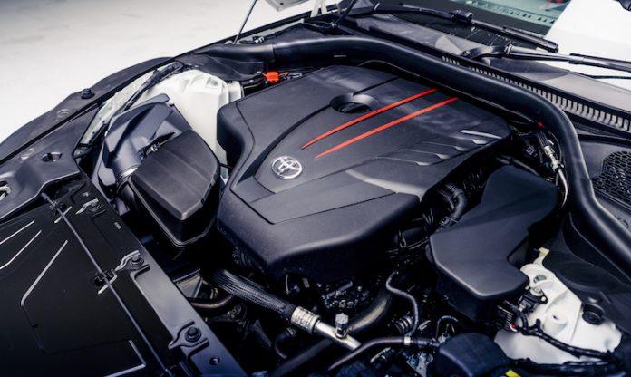GR Supra 2.0 engine